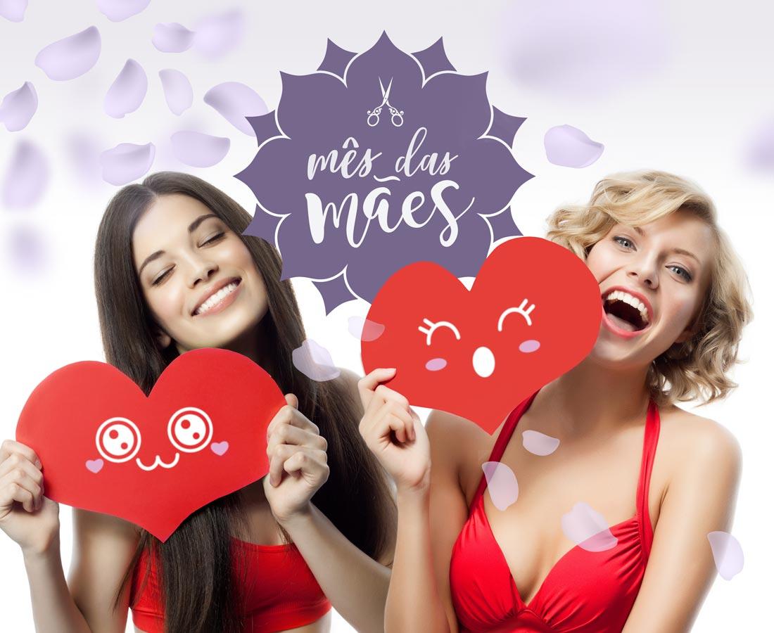 Promoção de Dia das Mães 2019 no Namastê Cabelo & Beleza