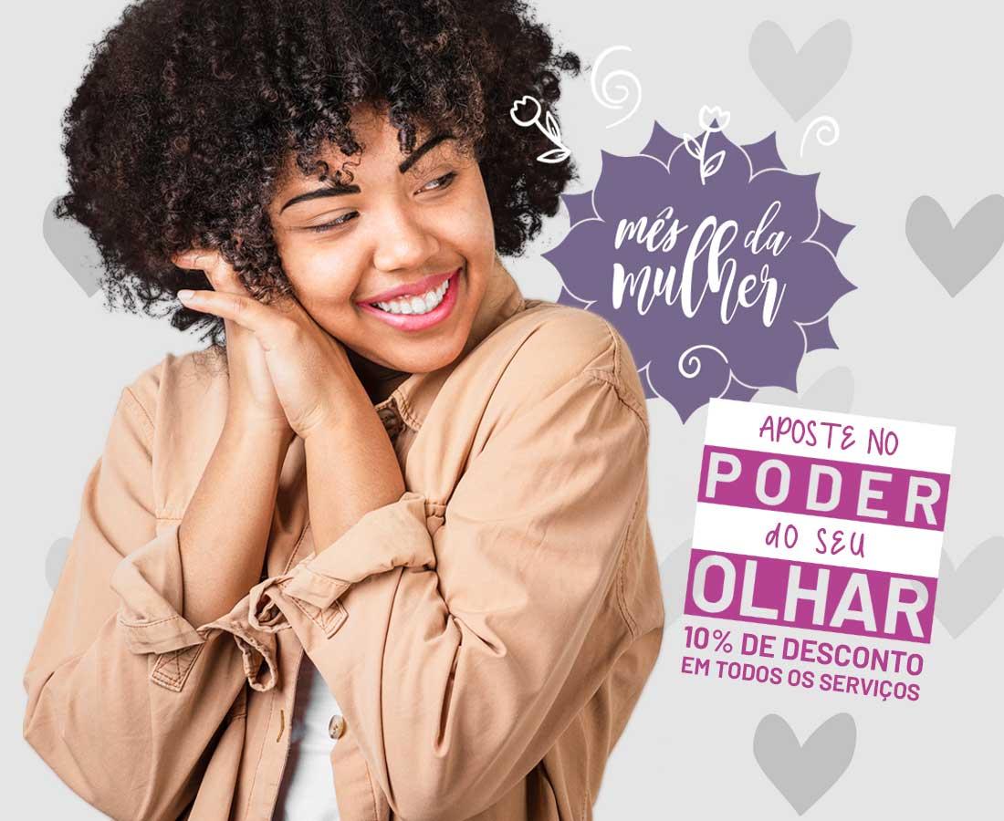 Promoção Mês da Mulher com 10% de Desconto em Todos os Serviços - Namastê Cabelo & Beleza